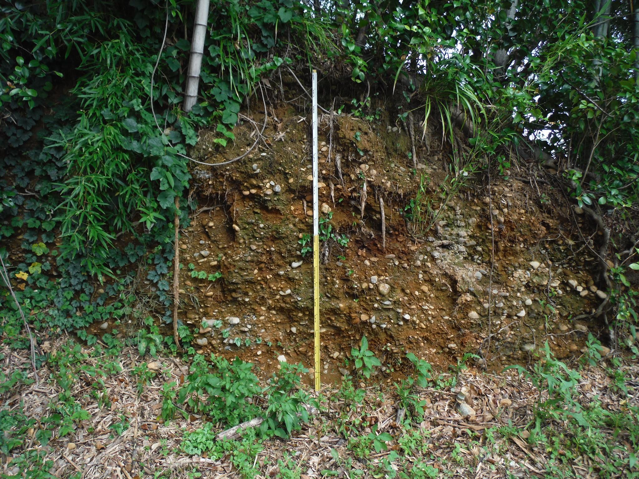 斜面調査のイメージ